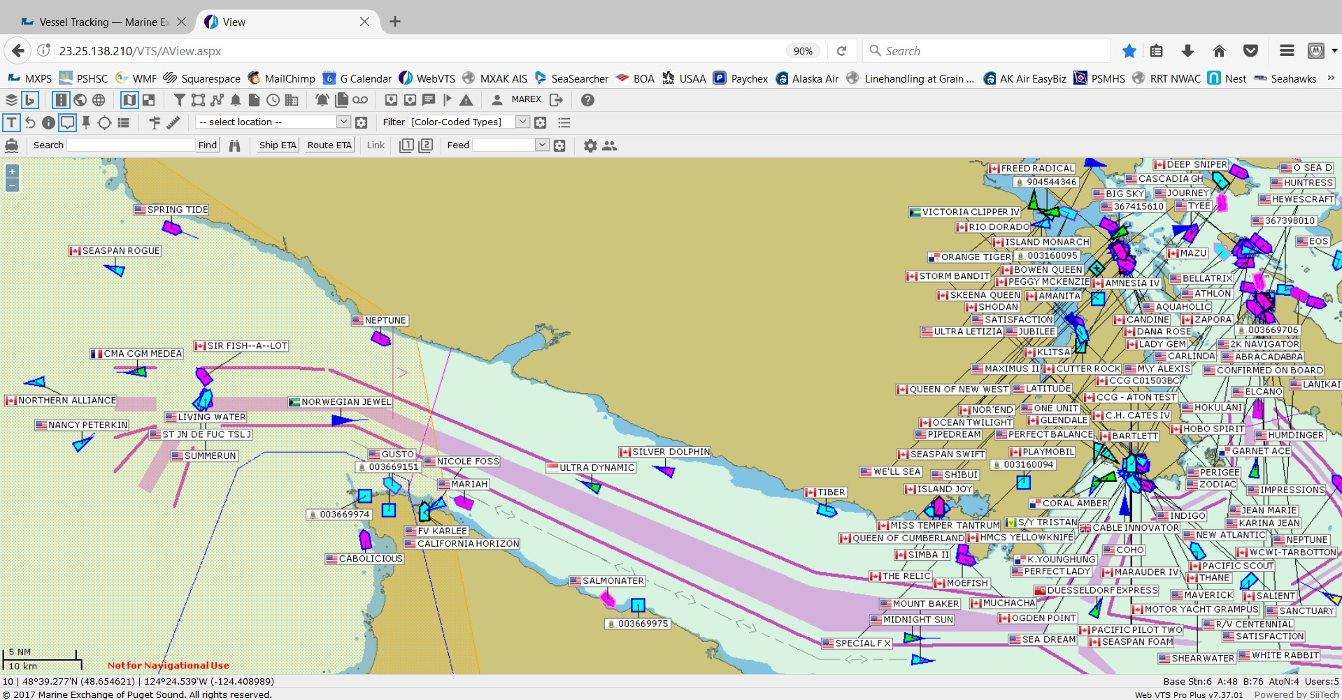 Vessel Tracking -