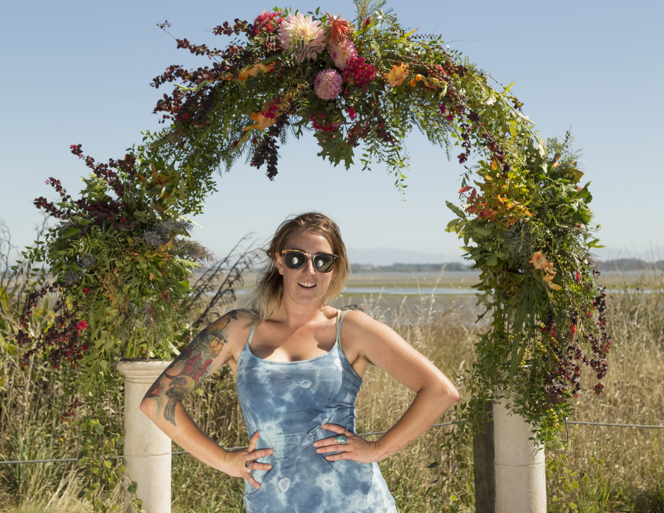 Christchurch florist Caitlin Joy