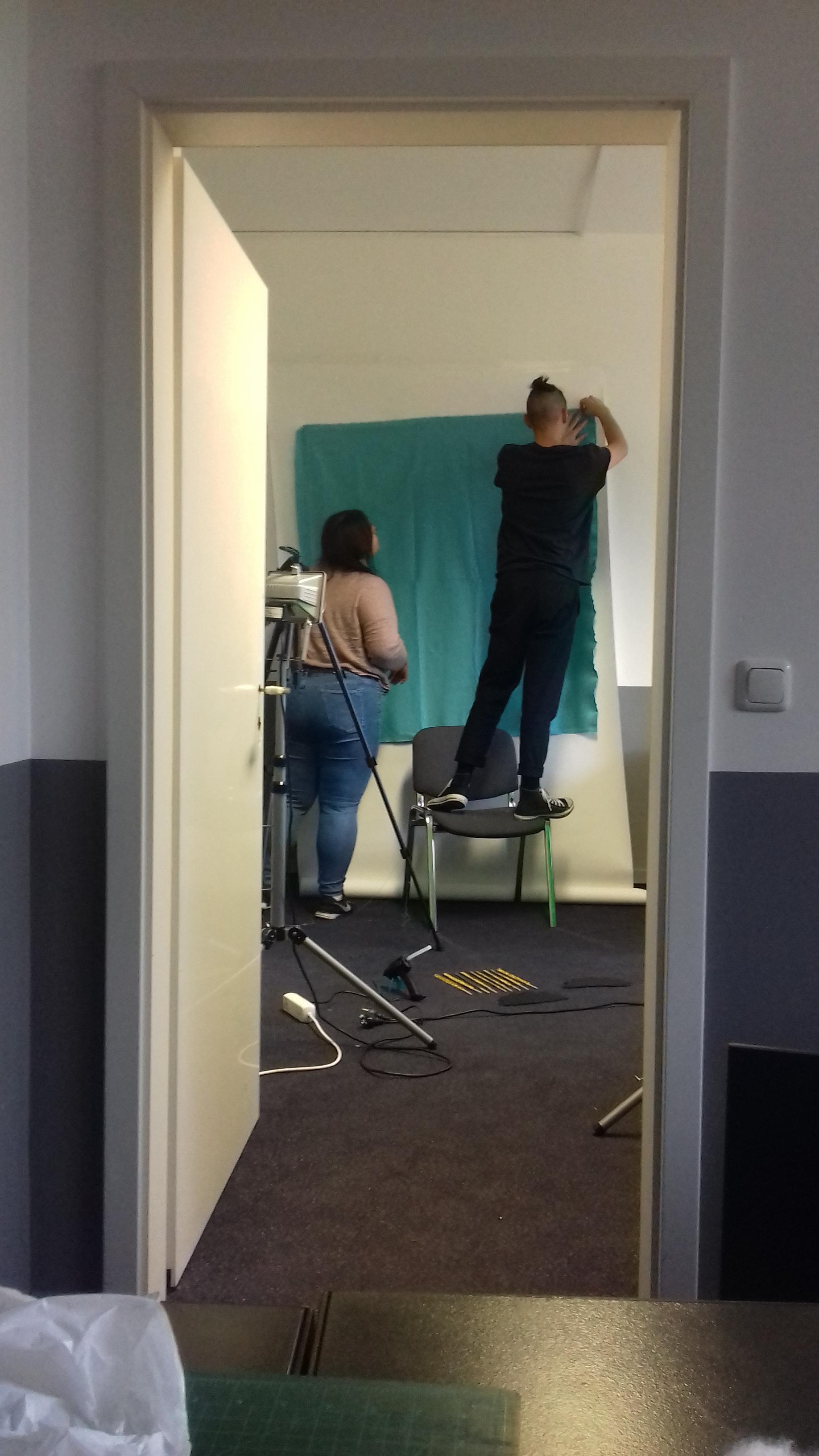 Ricardo's photoshoot / setup