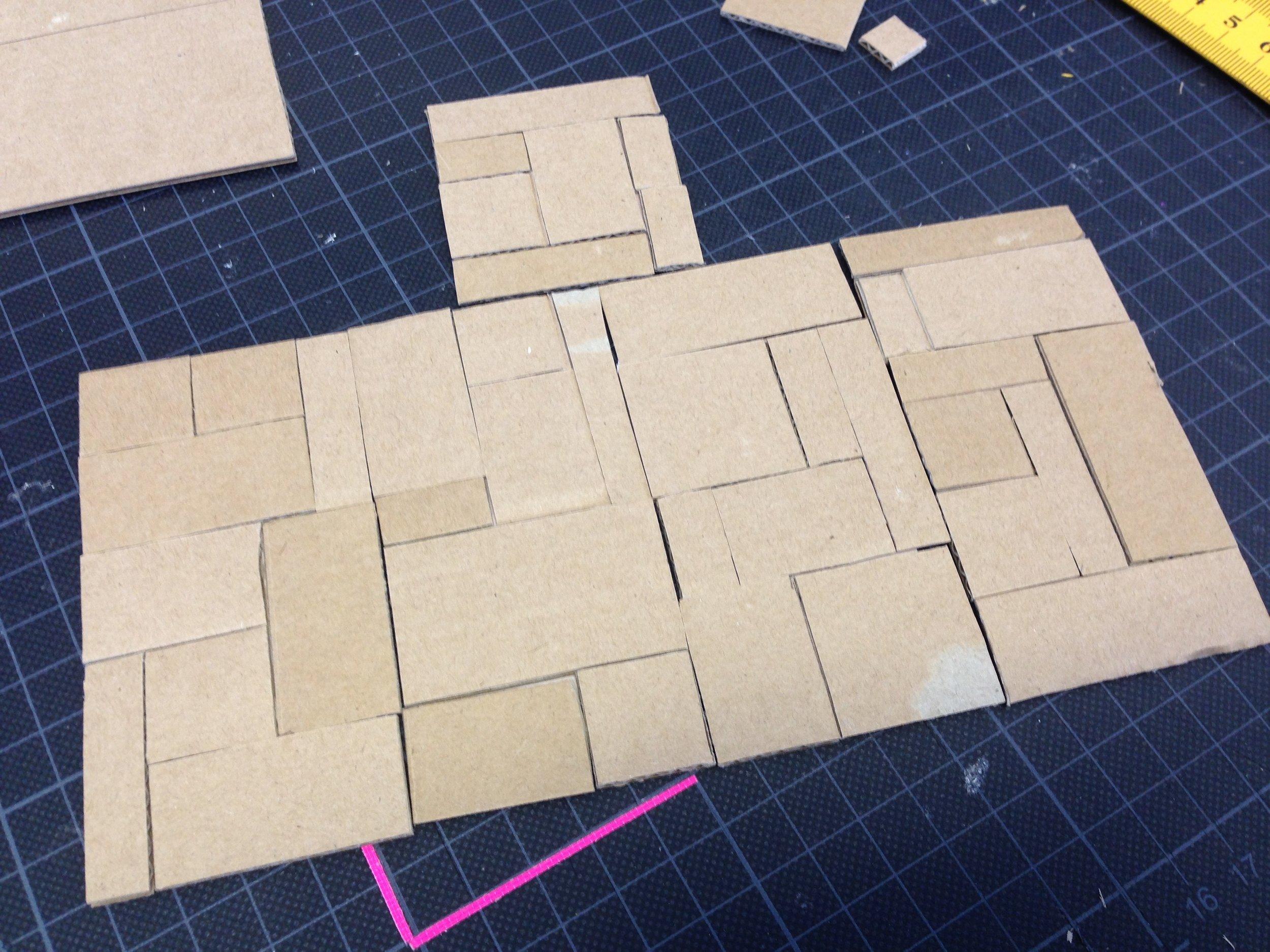 Matt's peep-hole box / Test models