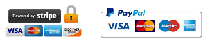 We use encrypted SSL security to ensure that your credit card information is 100% protected