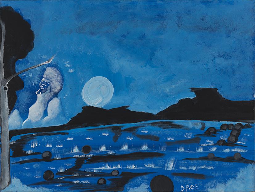 40. Daniel Roe,  Shadows and Light,  2017, acrylic on canvas, 61 x 46 cm $250