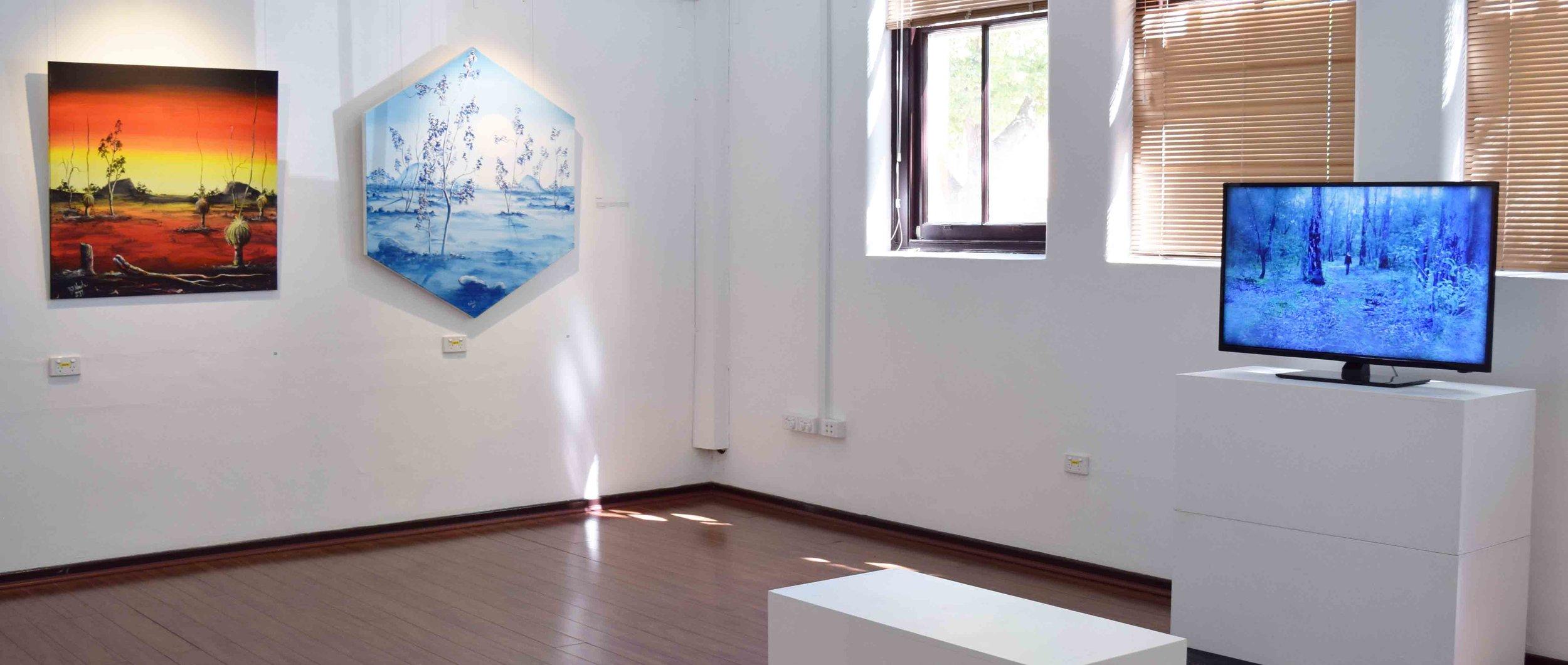 Danjoo - Interwoven  exhibition view