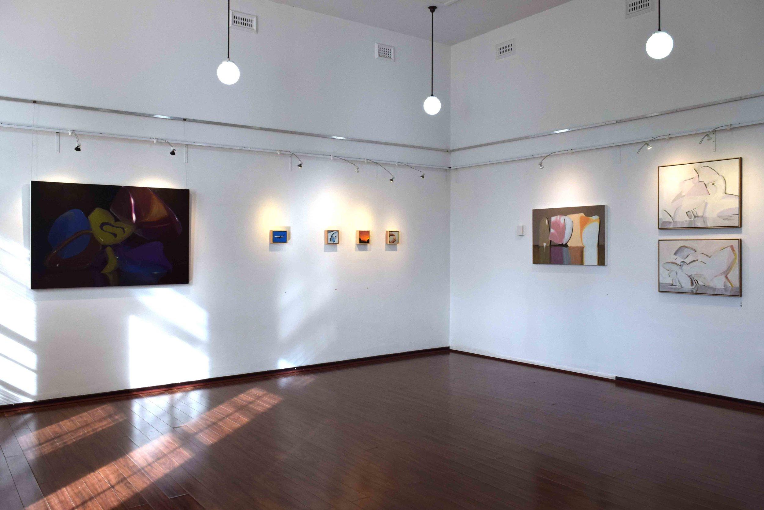 The Life Around  exhibition view