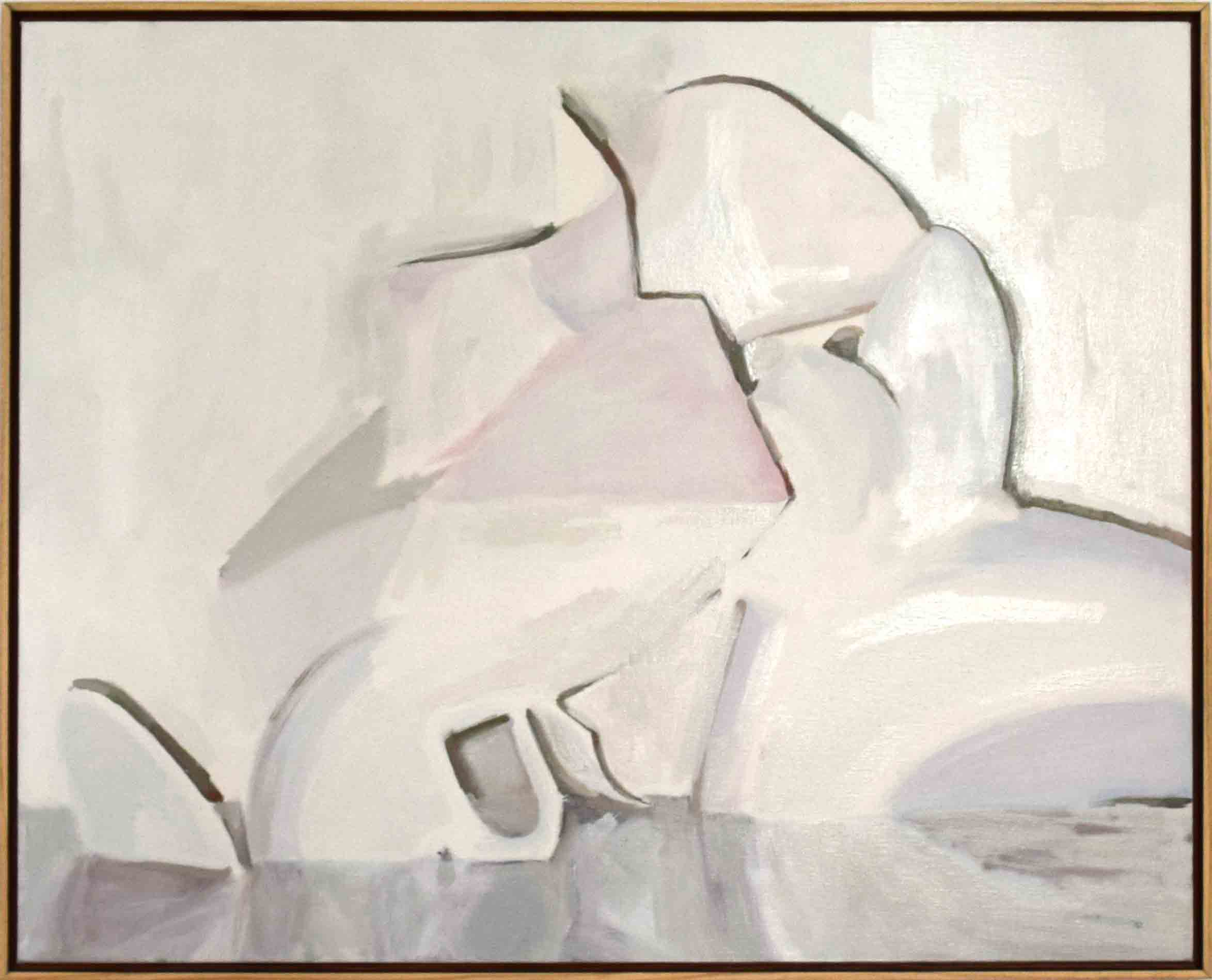 11. Ian Williams,  True Companions,  2018, oil on canvas, 61 x 76 cm $1,290