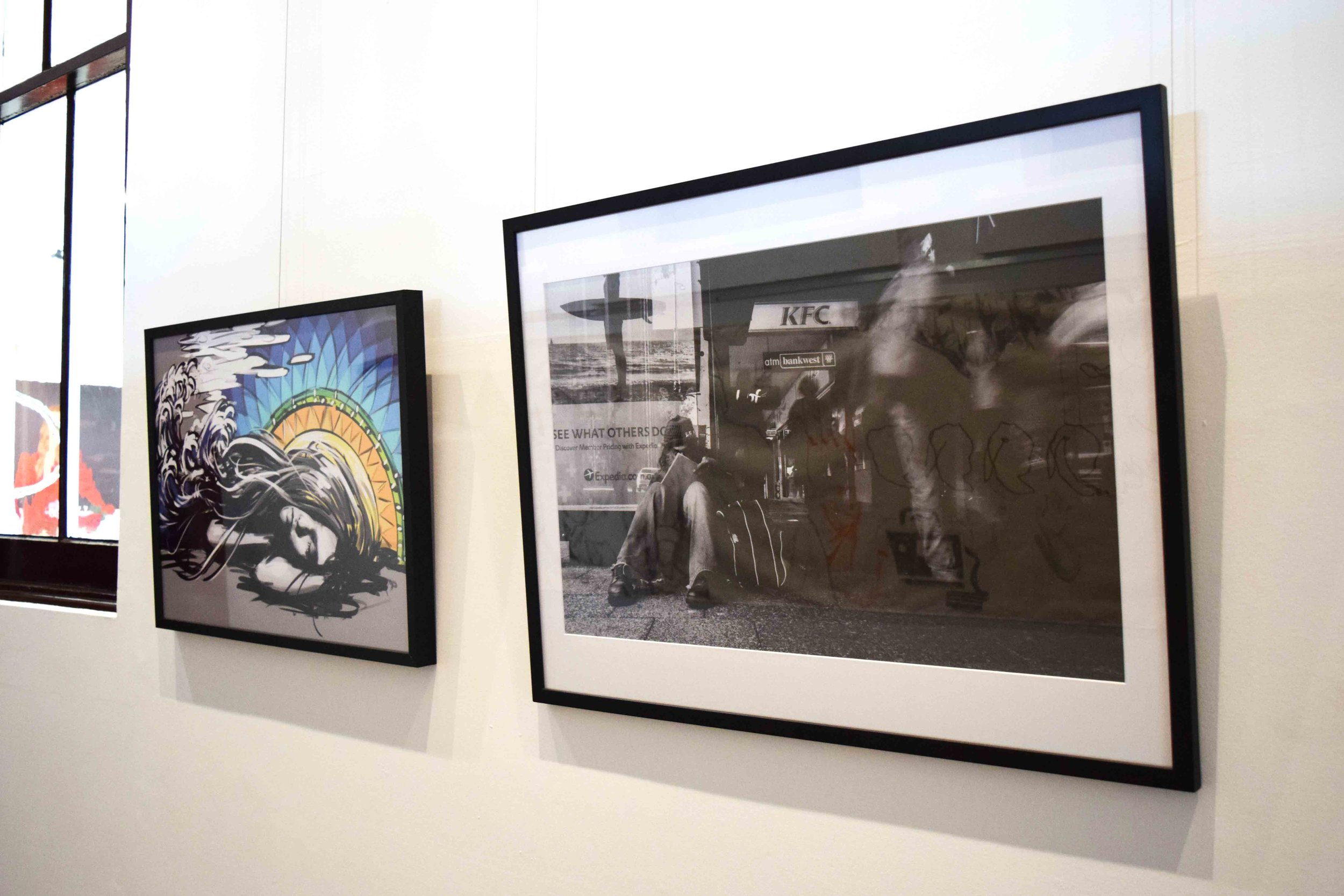 75. Paul No,  Artist Unnoticed , digital photograph, 83 x 62 cm $300   WINNER - PHOTOGRAPHY   74. Manol Ivanov,  Gaia,  digital painting, 60 x 30 cm NFS