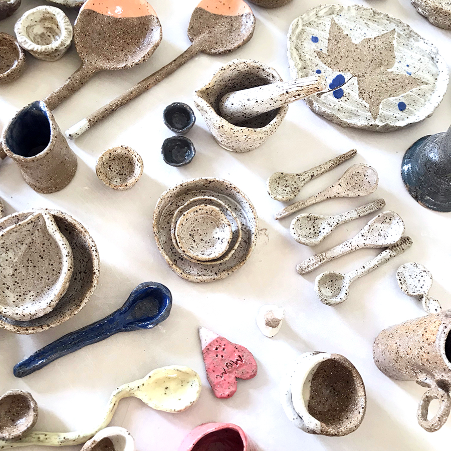 Kitchen Clay - Spend your Sunday afternoon handbuilding a range of kitchen homewares in this one-off workshop with local ceramicist Lee Woodcock. Work with Lee to create and decorate your own Mortar and Pestle, Serving Spoons and Platters whilst developing basic handbuilding skills in pottery.12pm - 4pm Suitable for 13+ yrs $75 | $67.50 Members