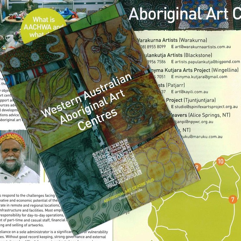 Aboriginal Art Centre Hub WA - Get to know the team behind the Aboriginal Art Centre Hub of Western Australia (AACHWA) with their collaborative painting with Loreen Sampson. AACHWA will be showcasing how Aboriginal artists throughout the state utilise botanical ingredients and materials in their artworks.FREE