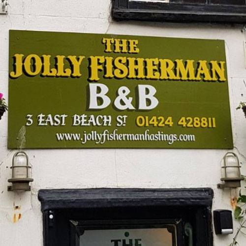 IV. THE JOLLY FISHERMAN