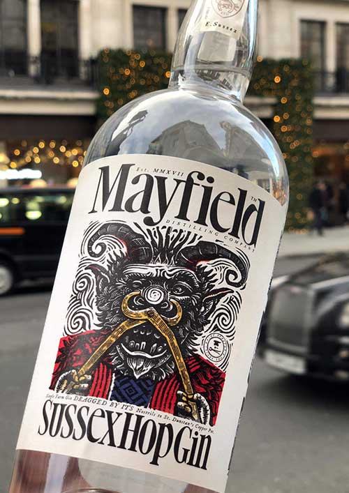 Mayfield gin liqueurs at the whisky exchange.jpg
