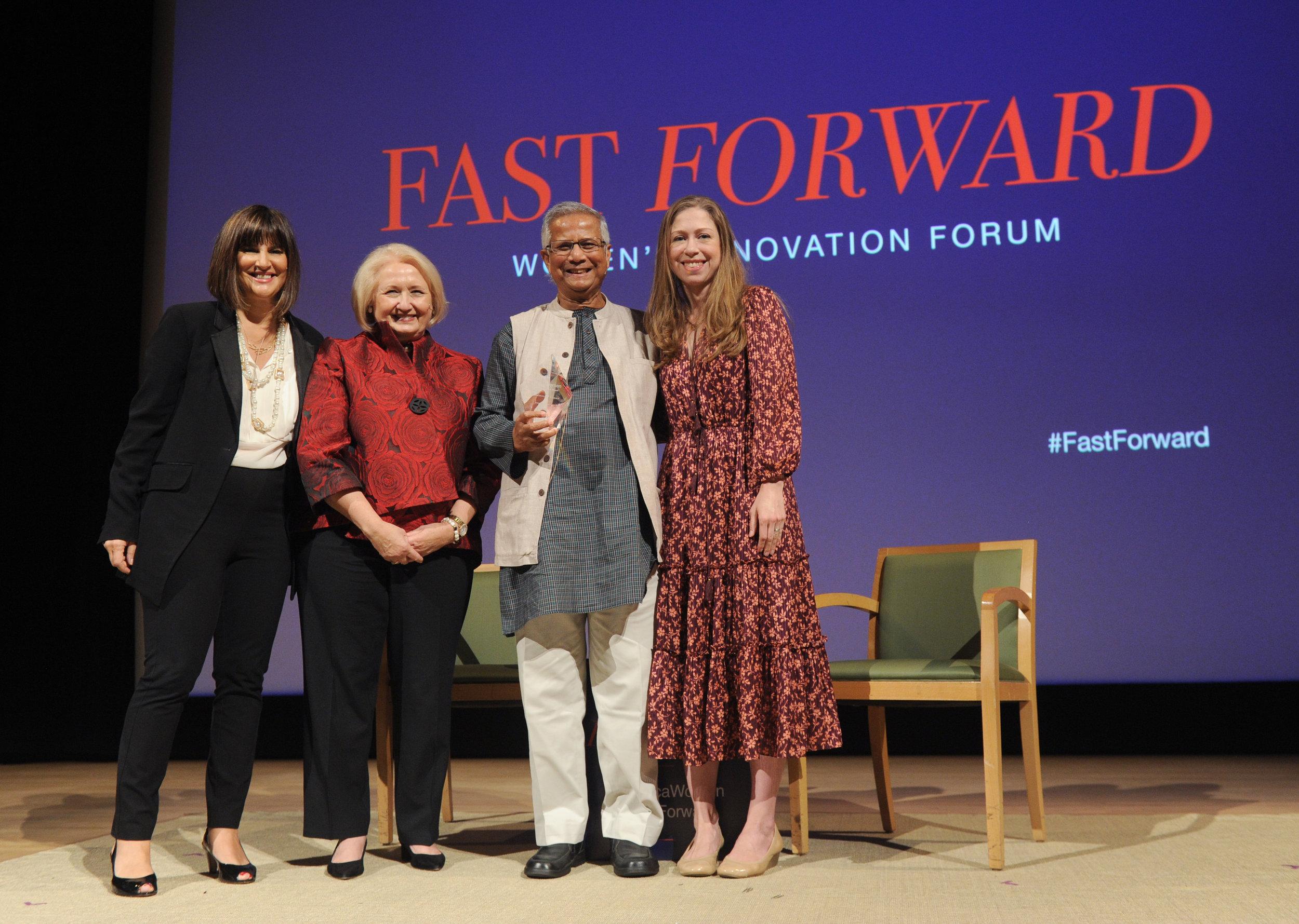 Kim Azzarelli, Melanne Verveer, Muhammad Yunus & Chelsea Clinton.jpg