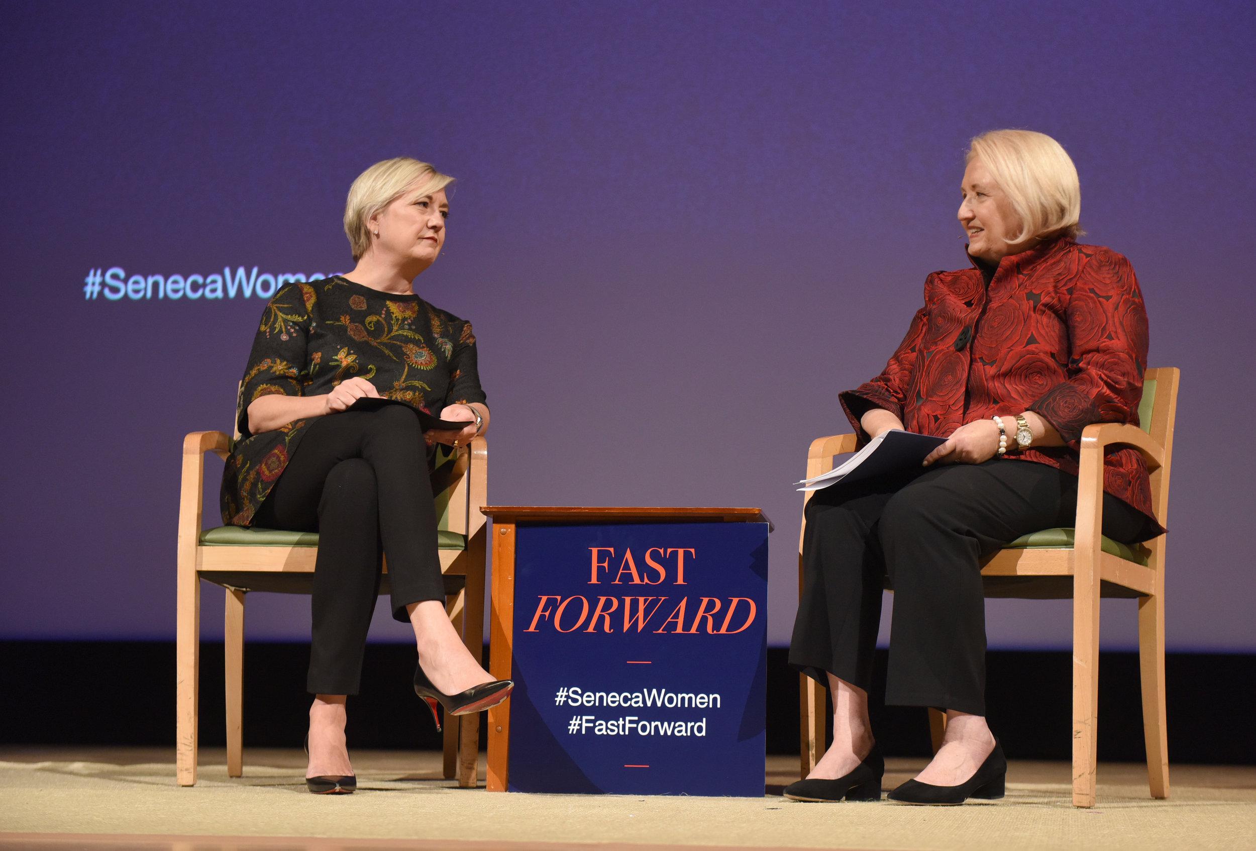 Carolyn Tastad & Melanne Verveer.JPG