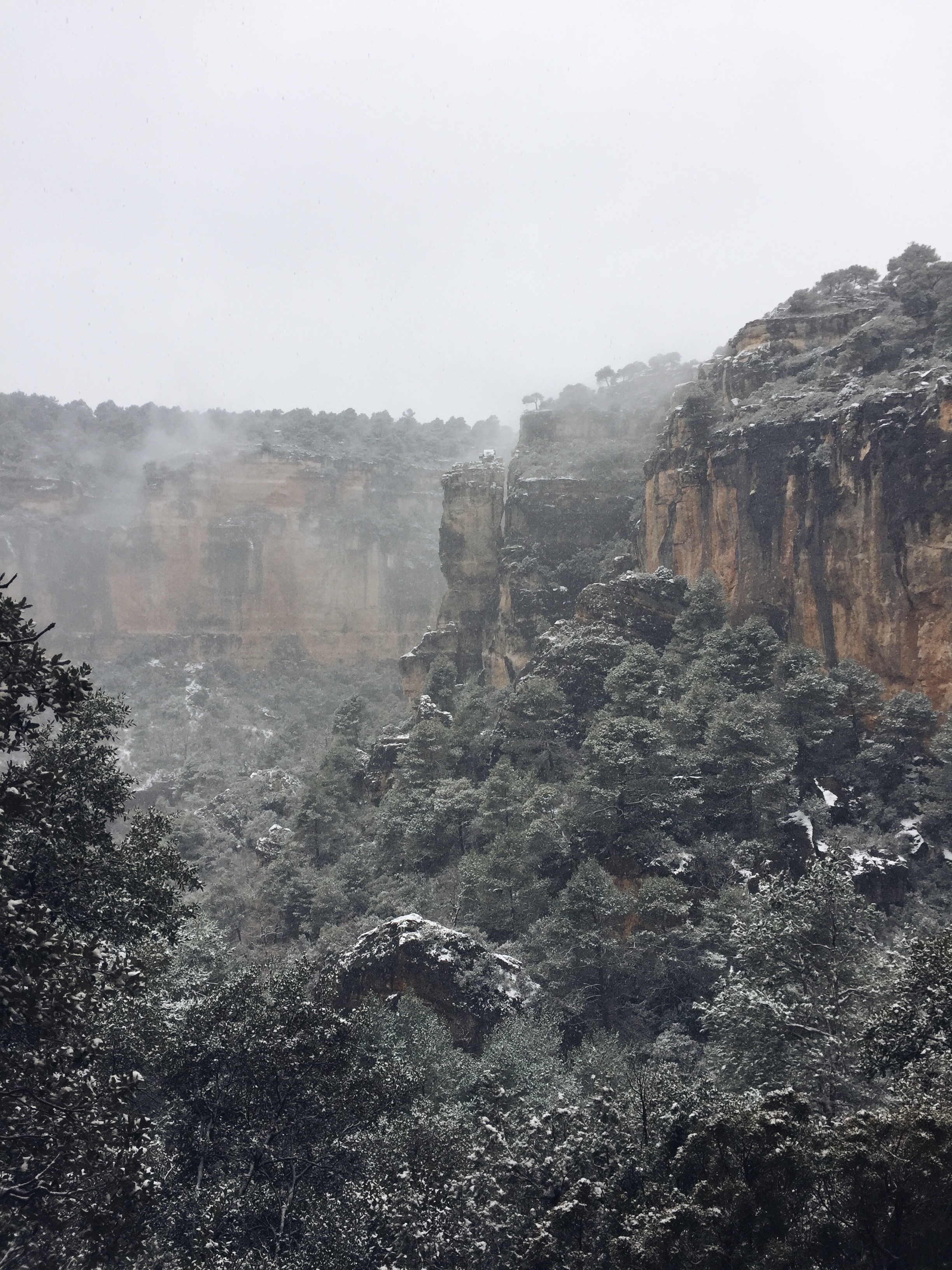 When Siurana became a winter wonderland.
