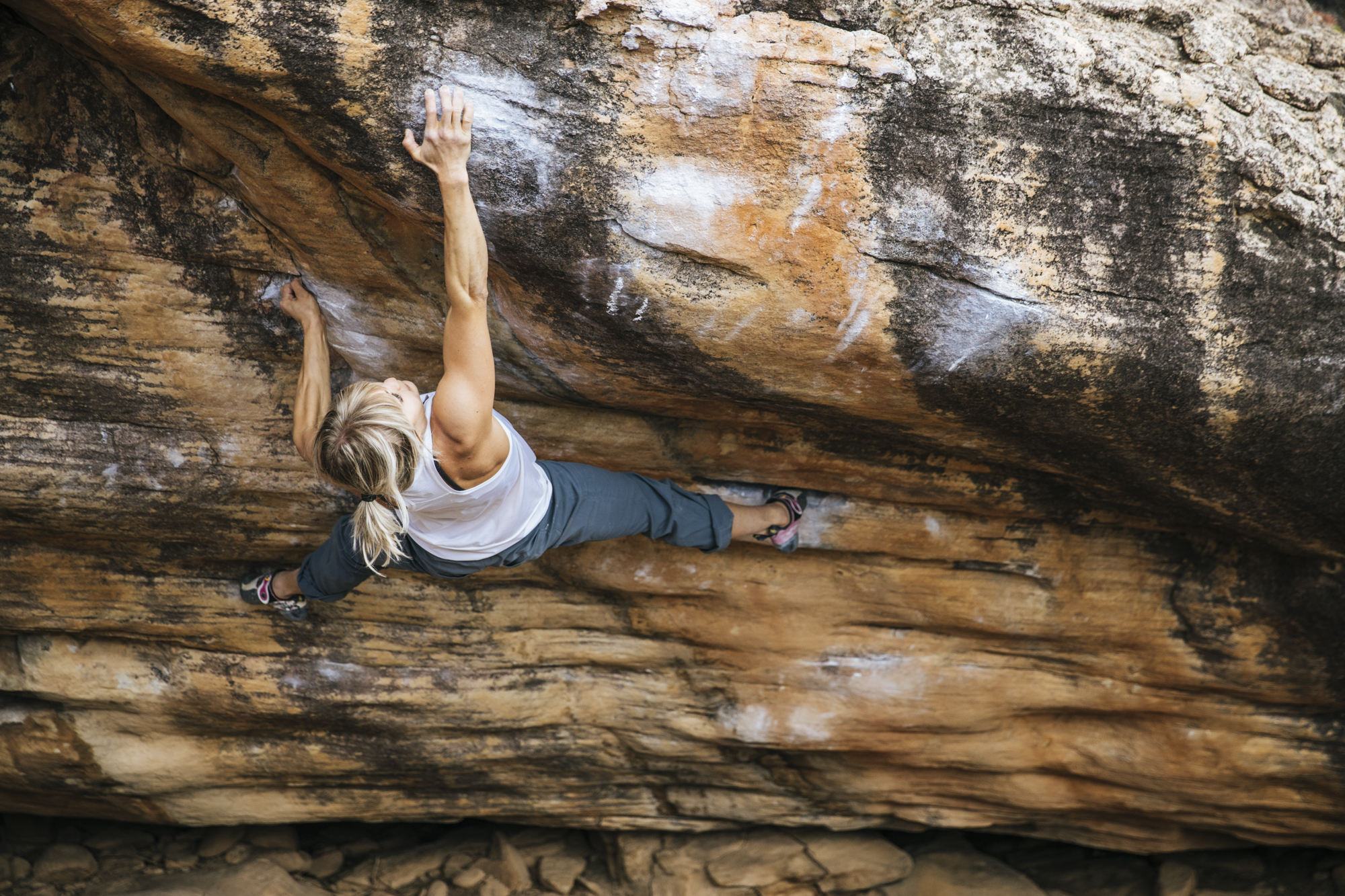 Law and Order, 8A+, Rocklands
