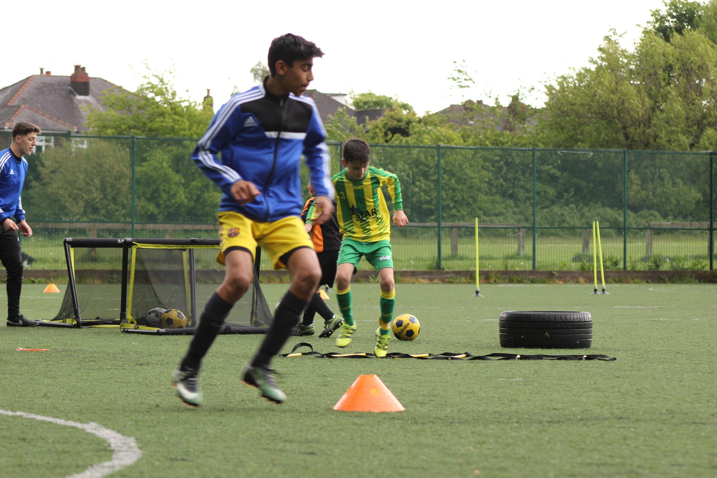 Club Coaching. -