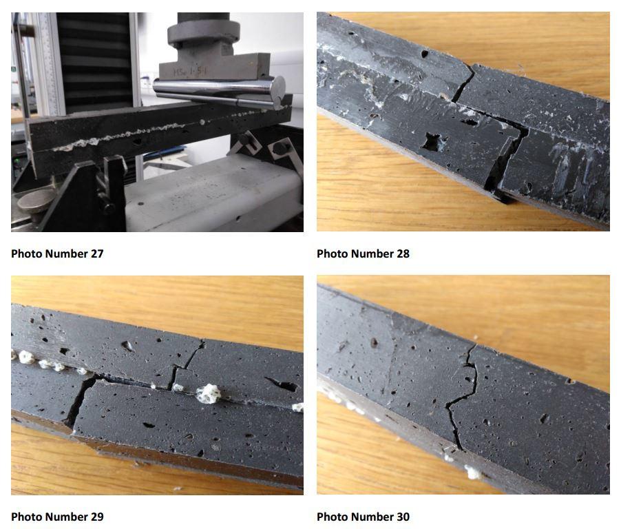screengrab - breaking point test on 2 bonded recycled plastic planks.JPG