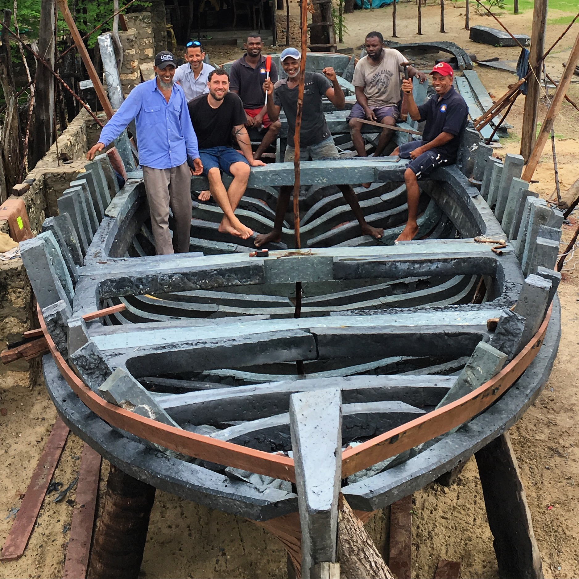 world's first recycled plastic dhow