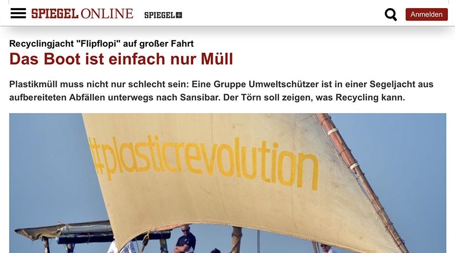 Spiegel Online,  27th January 2019 - (german)