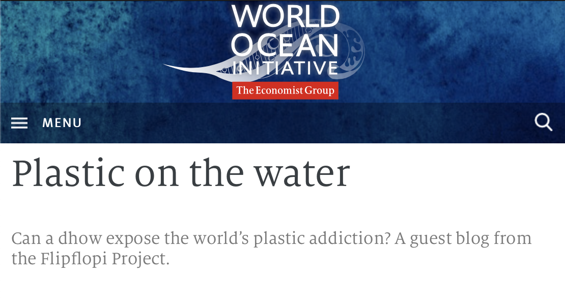 World Ocean Initiative,  12th March 2019