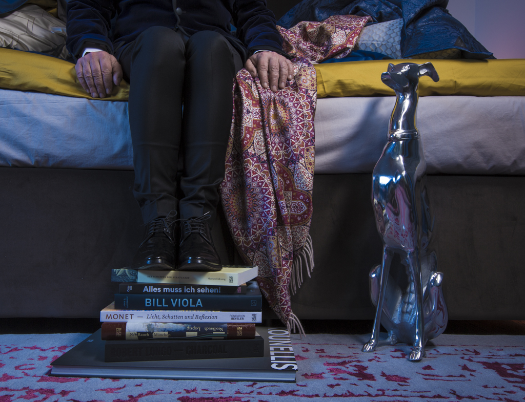 Styling für die Textilwirtschaft home / Photo by Nic Oswald