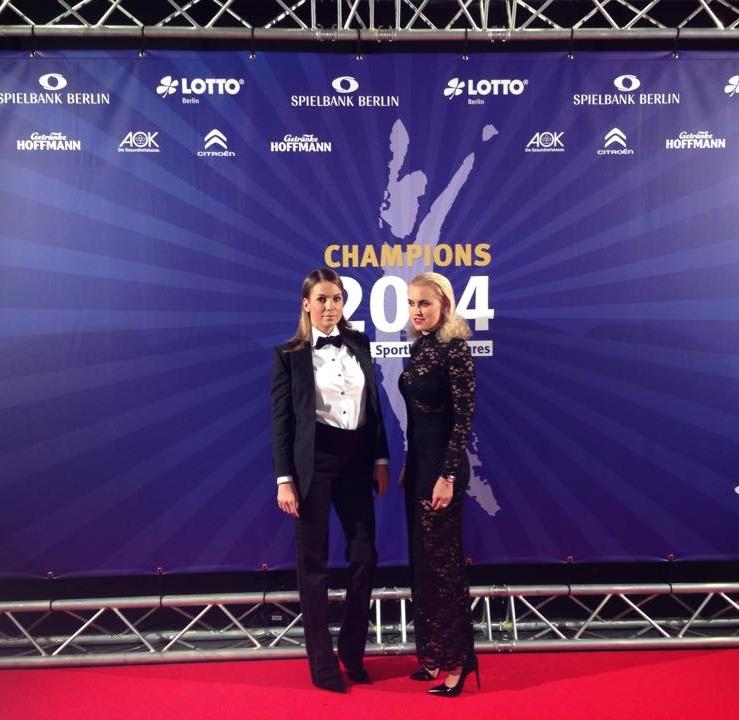 Ulla Burba Gumus - Styling für Champions Sportler des Jahres