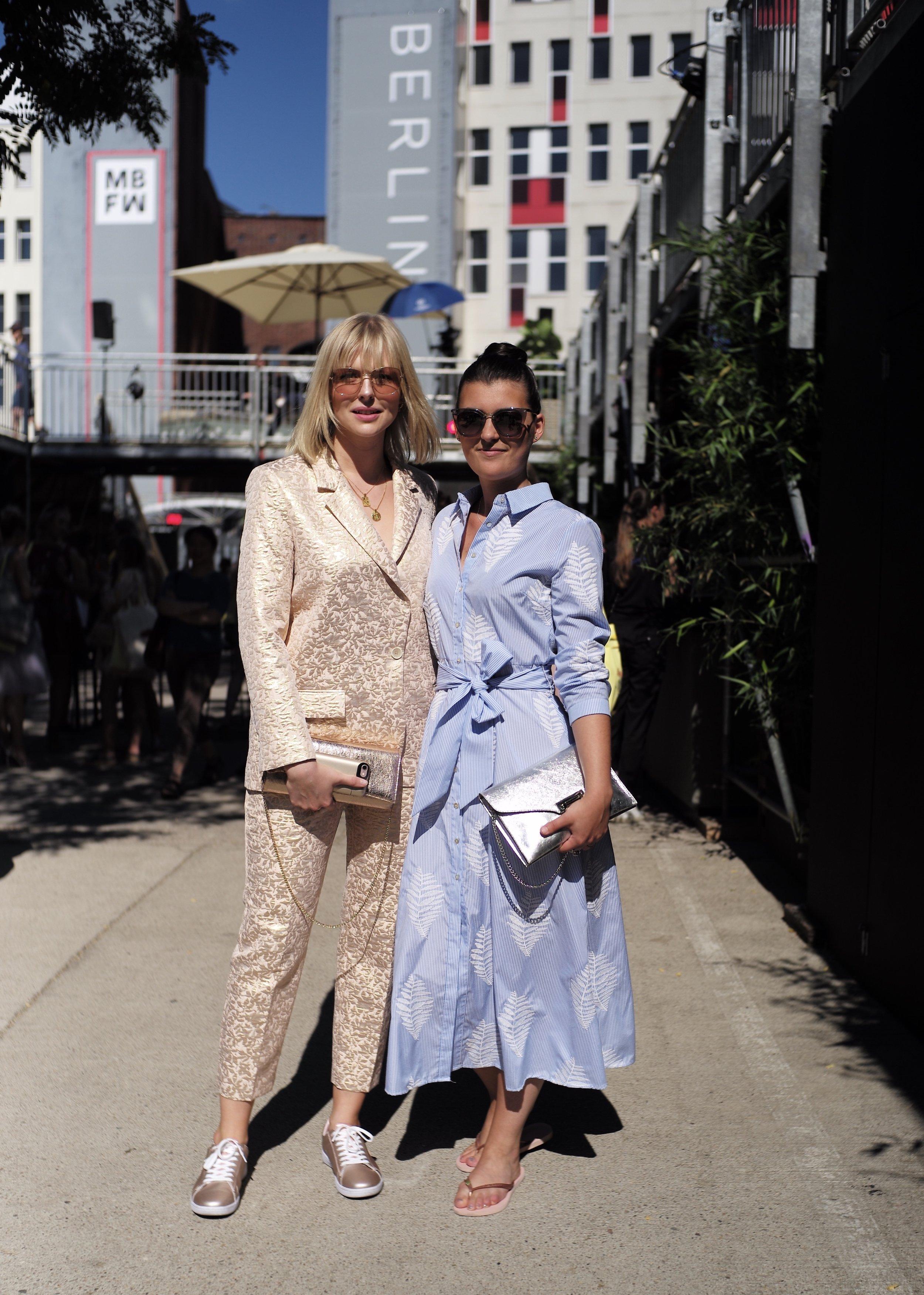 Carolin Lauffenburger - Fashion Show Lena Hoschek Juli 2018Photo by Thomas Tiefseetaucher