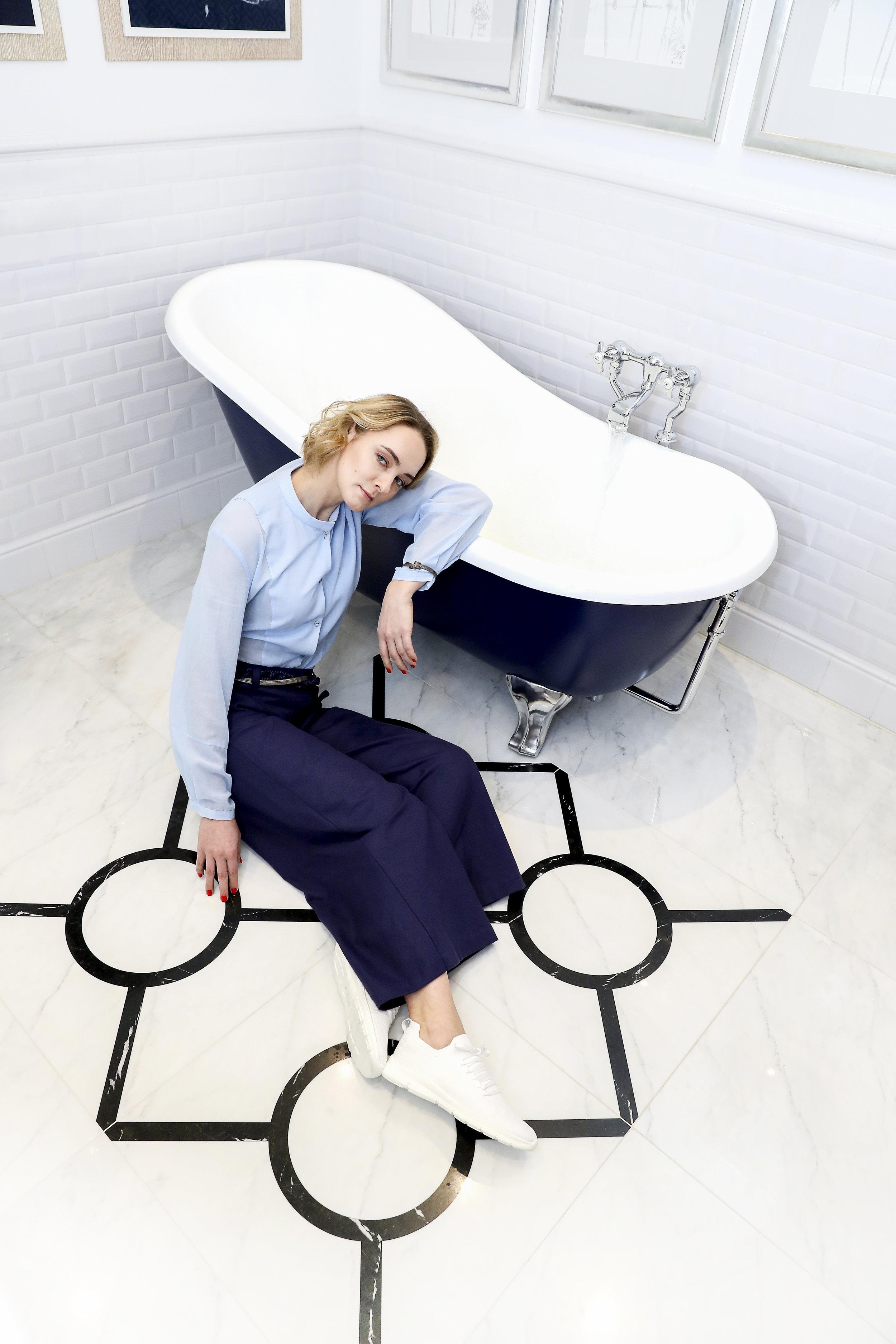"""Anne-Catrin Märzke - Styling für die Interviewstrecke """"Marie trifft.."""" im Welt Vegan MagazinPhoto by Isa.Foltin"""