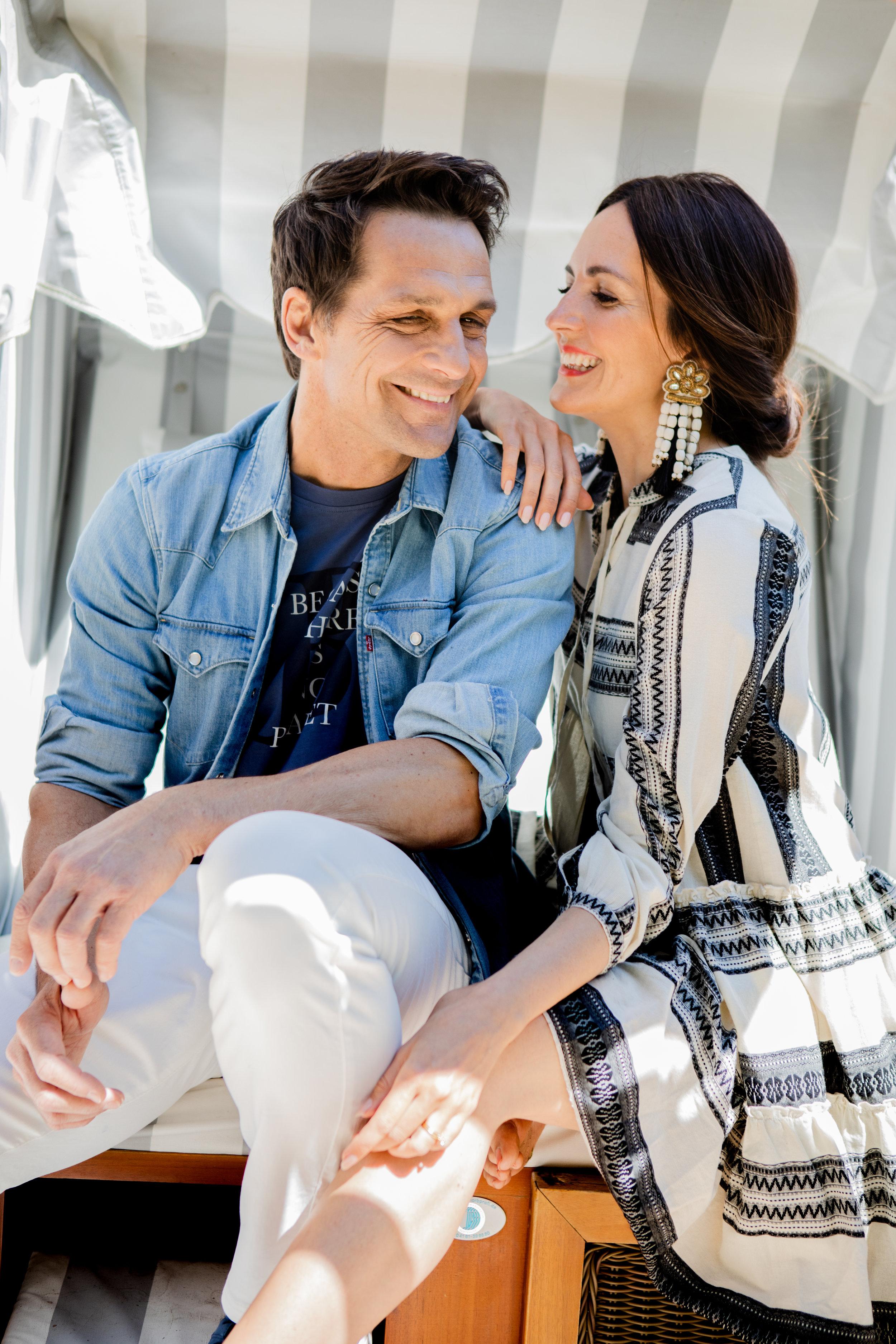 """Robert & Johanna - Styling für die Interviewstrecke """"Marie trifft.."""" im Welt Vegan MagazinPhoto by Sophia Noelle"""