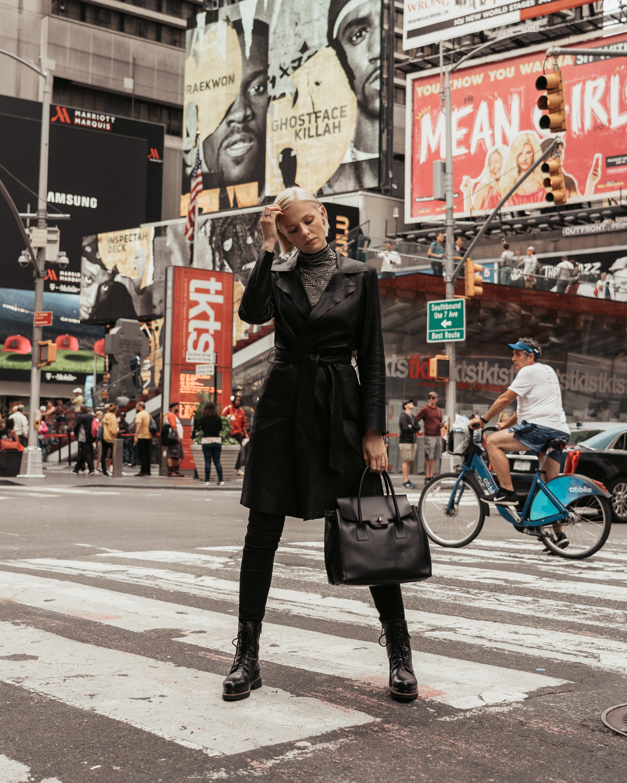 Carolin Lauffenburger - Styling & Management Social Media Kooperation mit Madeleine x New YorkPhoto by Kimyana Hachmann
