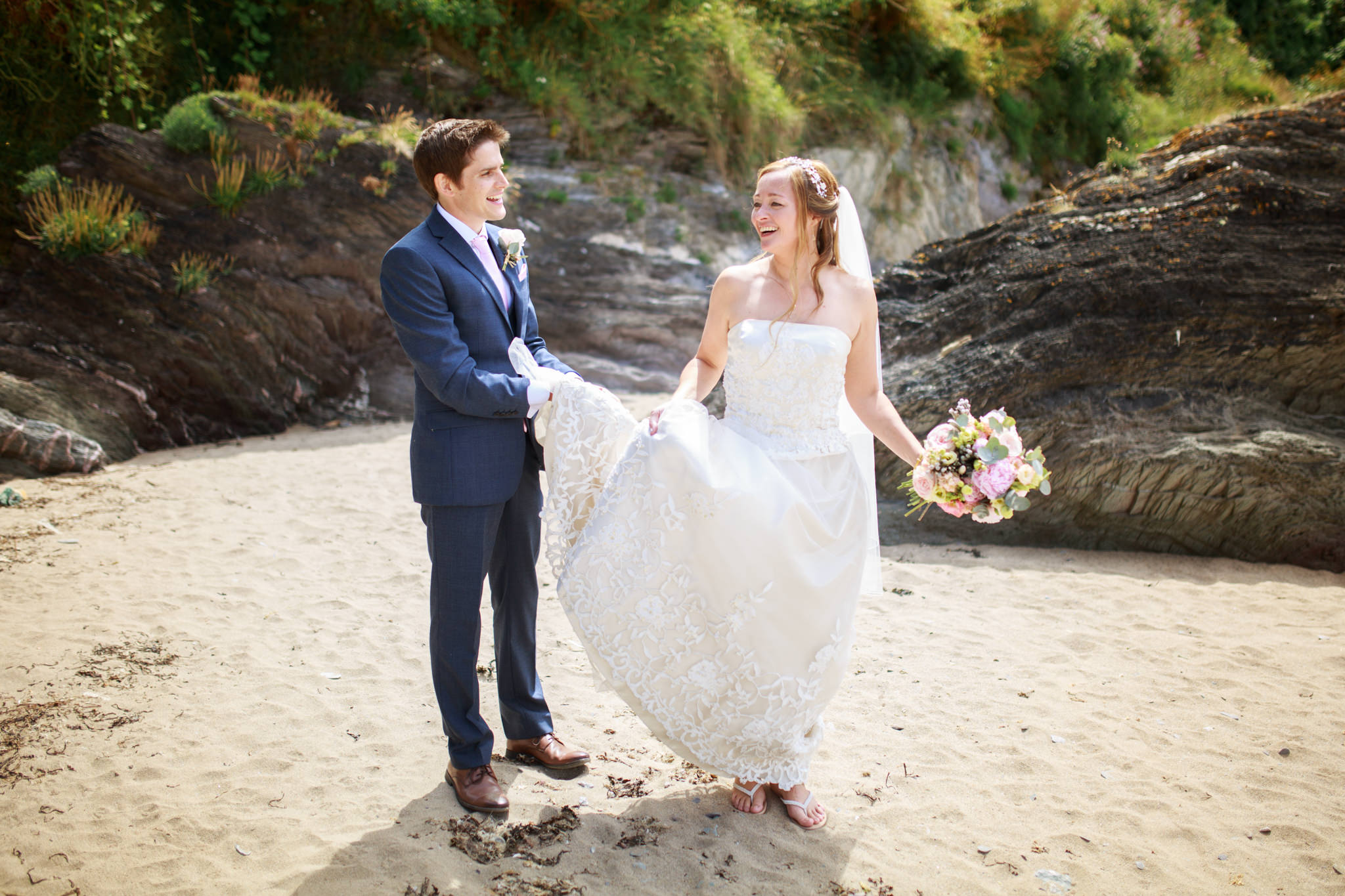 Polhawn Fort Wedding Photographer 016_.jpg