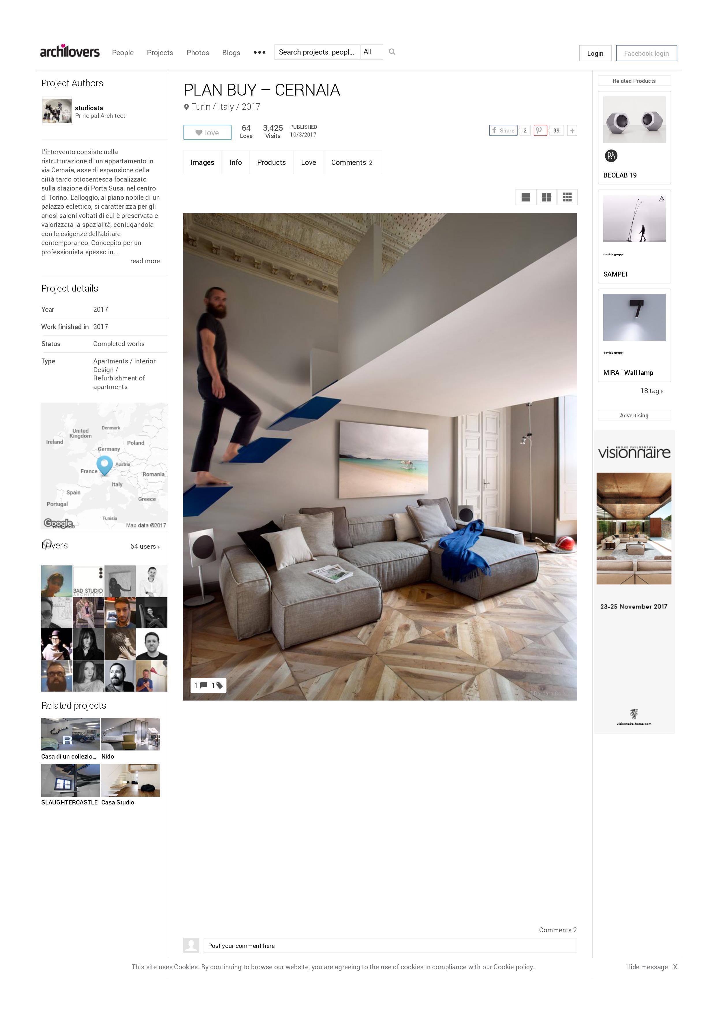 ARCHILOVERS - Il social network per architetti e designer