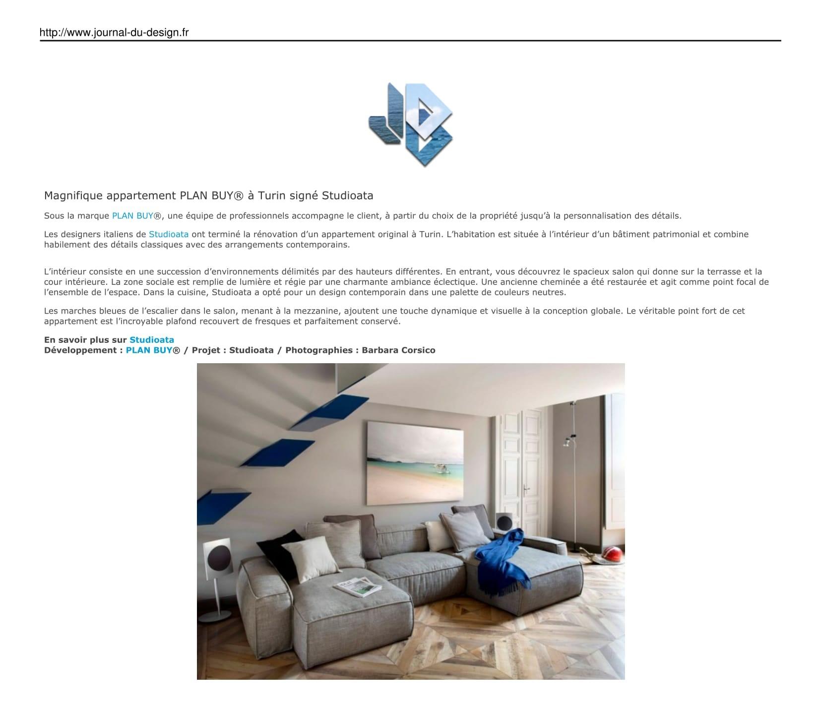 JOURNAL DU DESIGN - France - Le site du design, de l'architecture, de l'art, du high-tech, de la mode et des tendances urbaines.