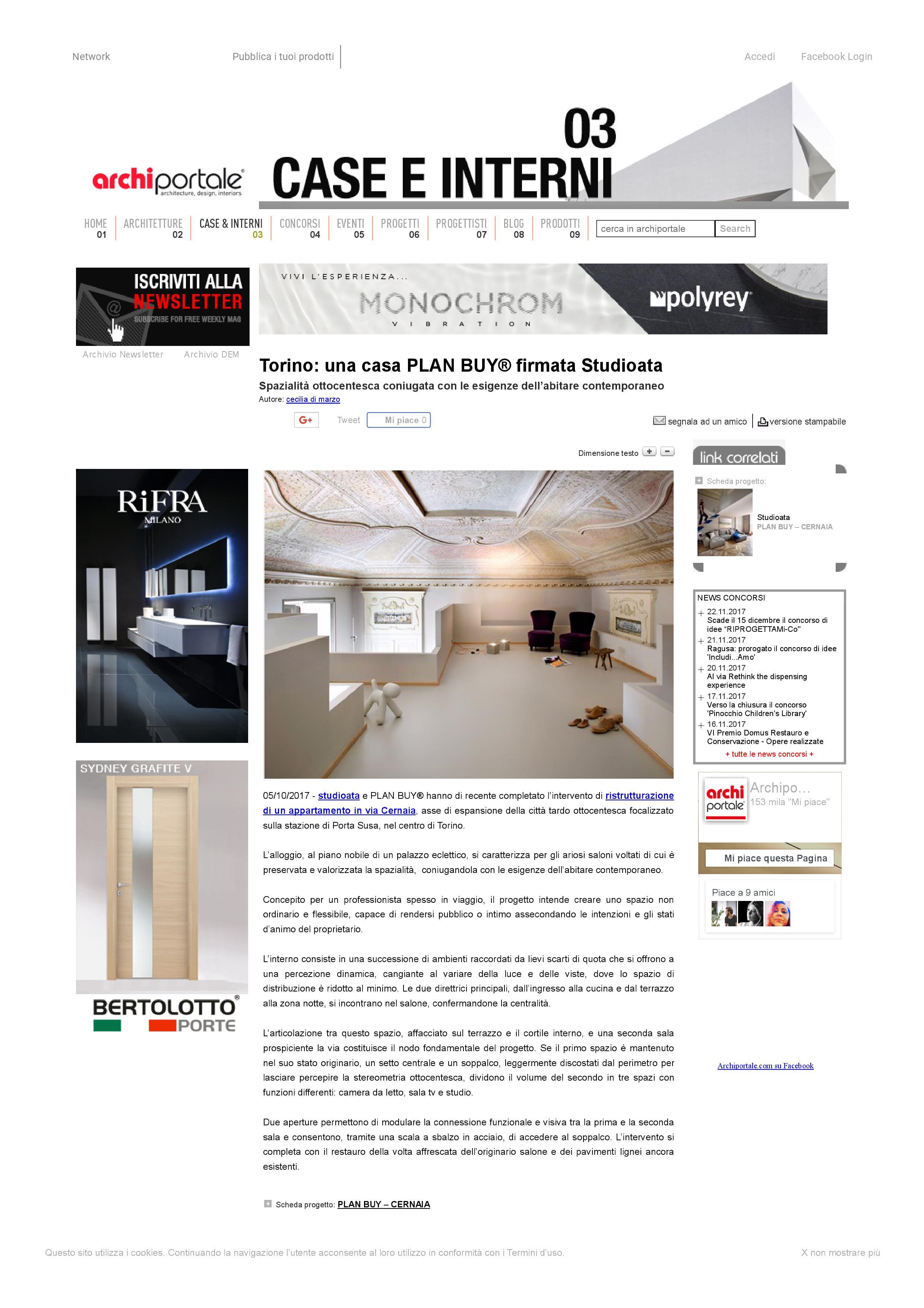 ARCHIPORTALE - Il portale dell'architettura -