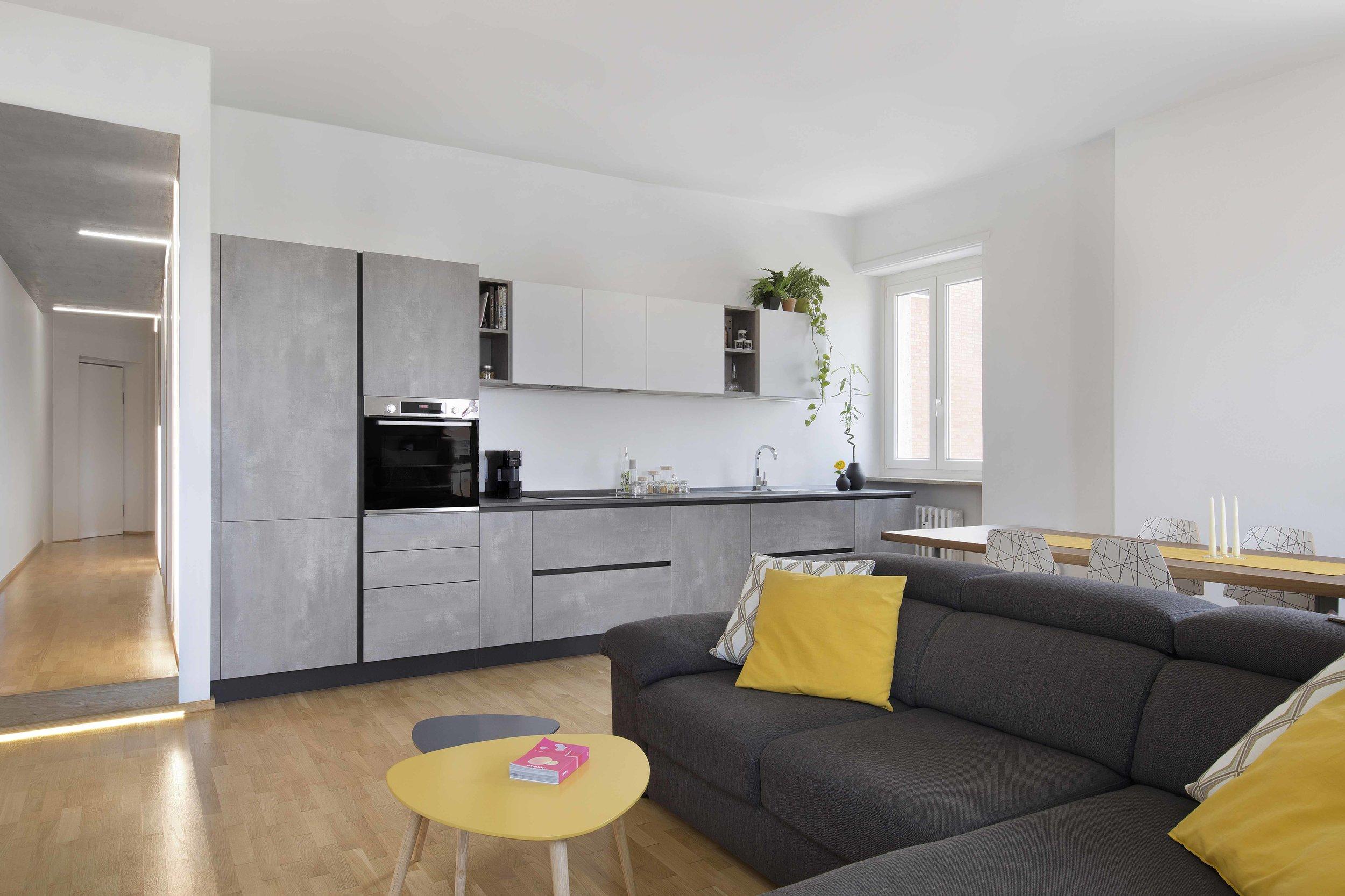 Planbuy-living con corridoio