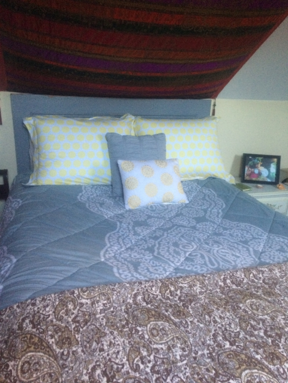 Consultation: - After adding a headboard to her bed, this client experienced phenomenal positive occurrences in her life in the areas of love, business, and health.