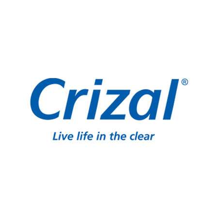 Crizal ® - No-glare lenses that are the best in reducing scratches, smudges and UV light.