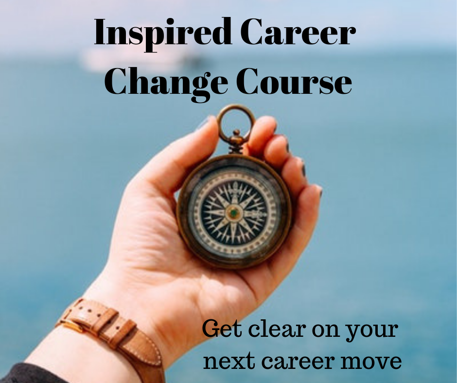 Inspired Career Change Course - It's time to stop wondering what you should do next and get some clarity on your career options. Find out more here.
