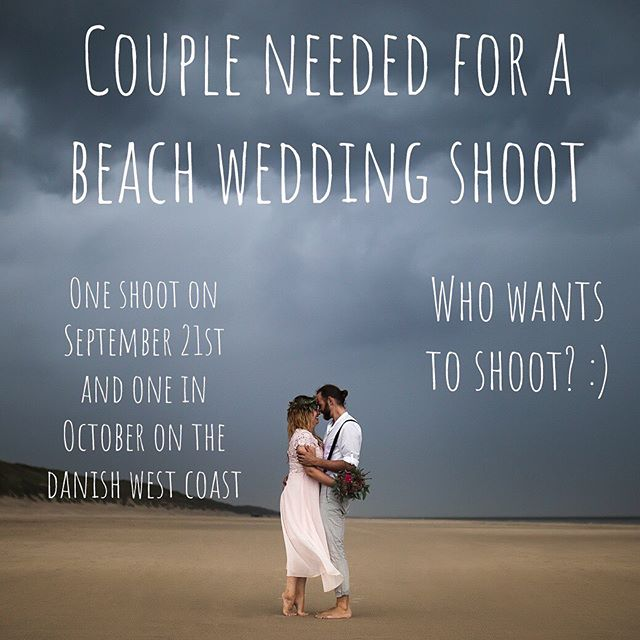 Who wants to do a beach/boho styled wedding/couple shoot on the danish west coast?? Shoot me a DM if interested