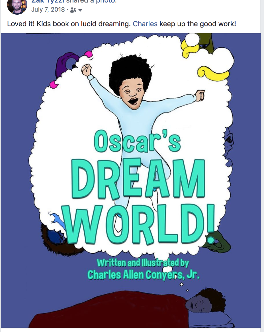 Oscar's Dream World gets a buyer!