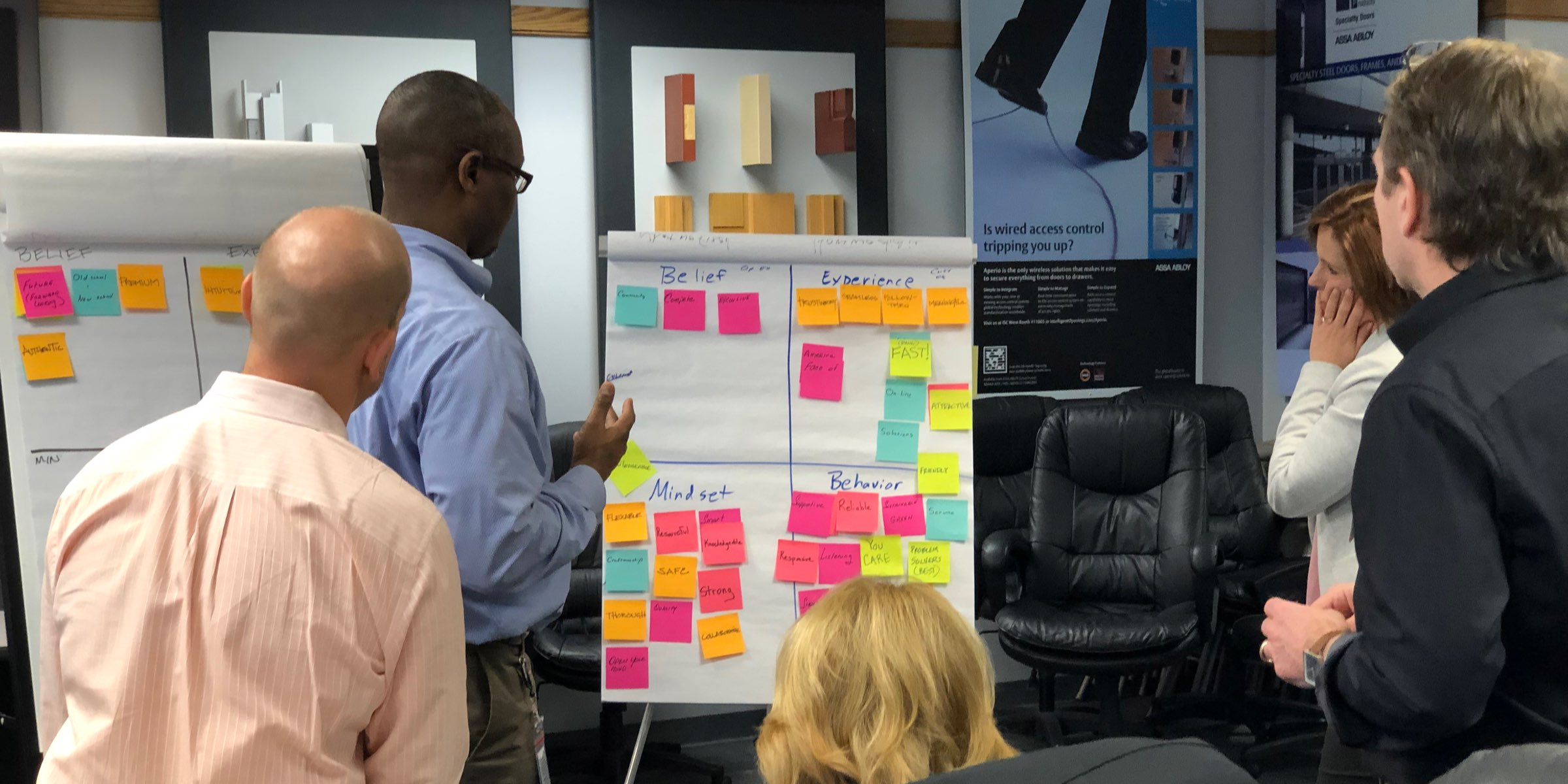 Our Brand Values workshop