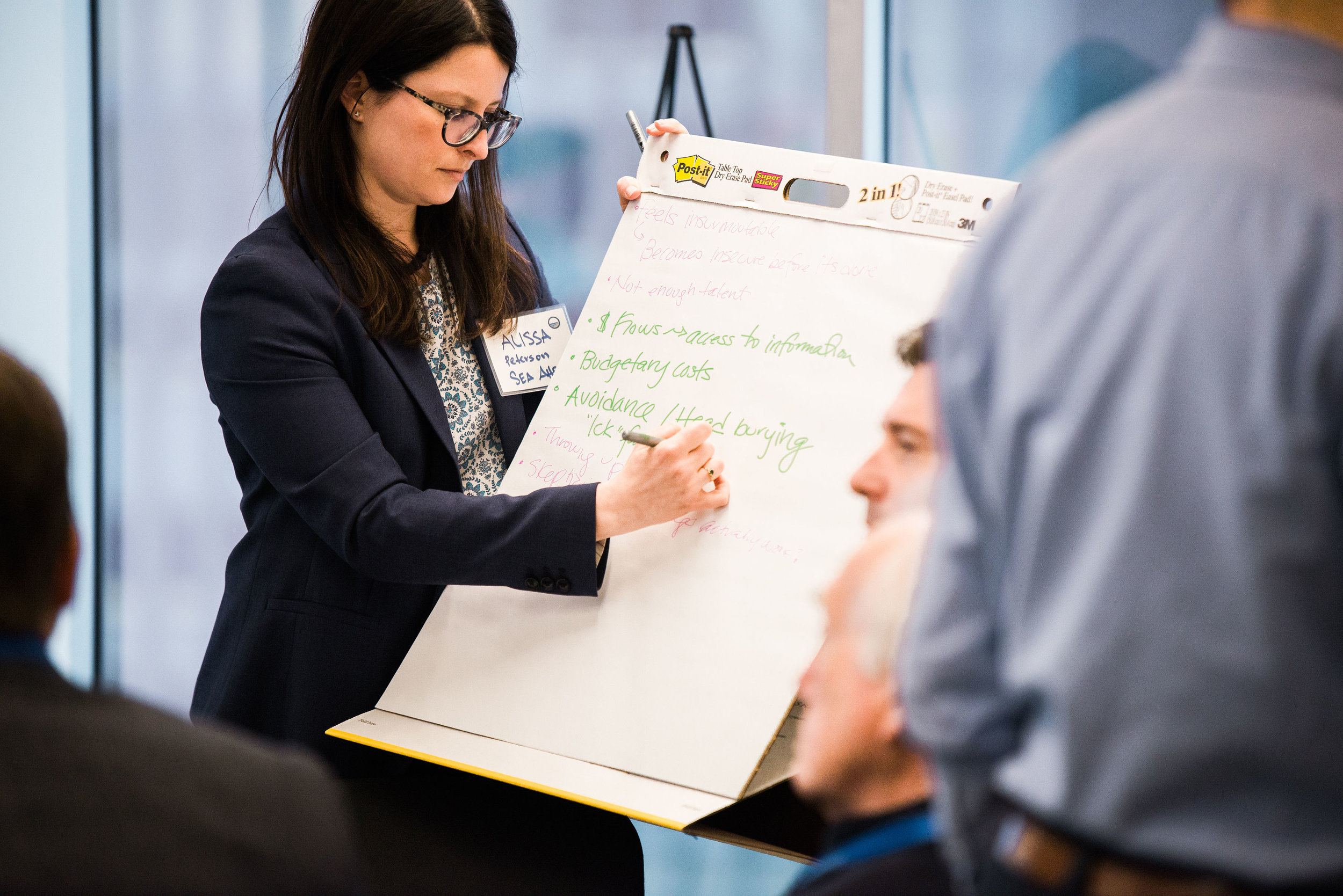 Designed and lead a co-creation workshop for the Maritime Industry with SeaAhead