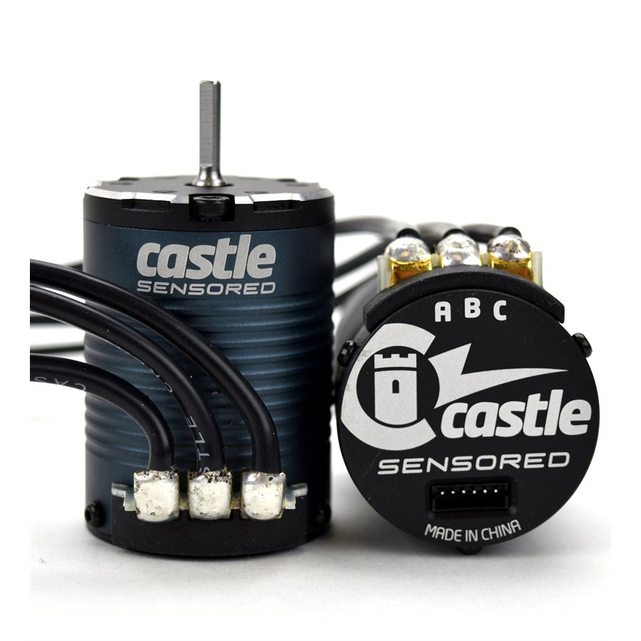 1406 Crawler - For more than a decade Castle has been providing award winning brushless sensorless motors to R/C enthusiasts worldwide. In response to overwhelming requests by our customers, we have brought technological advancements together that will deliver unprecedented performance in our new SENSORED motor Line.  Our latest additions are the 1406 series in a