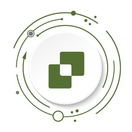 Signature Service icon in dark green.