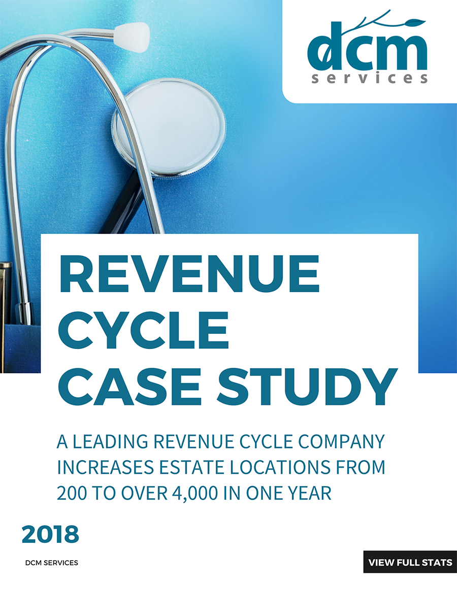 A leading revenue cycle company increases estate locations from 200 to over 4,000 in one year    Read more