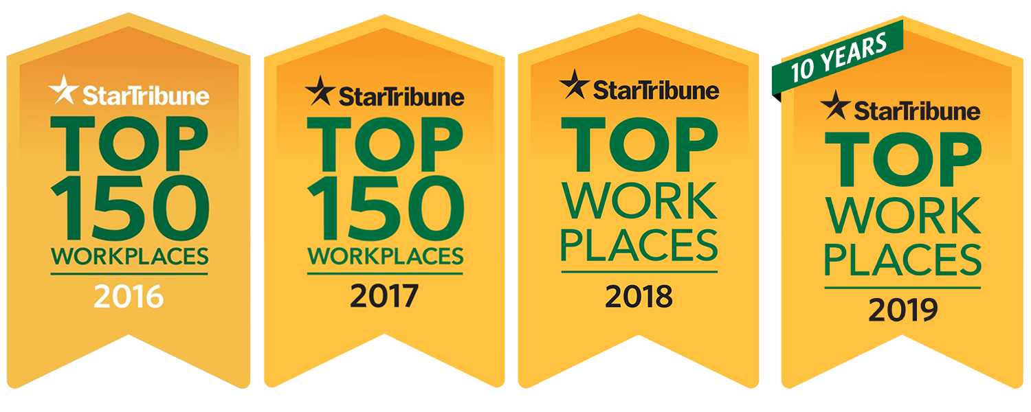 DCM Services is proud to be named a Top 150 Workplace for four consecutive years!