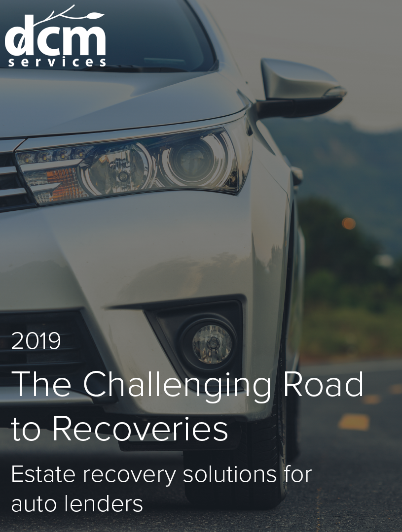 Estate Recovery Solutions for Auto Lenders    View now