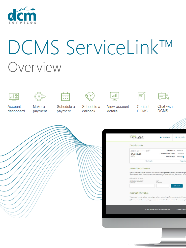 DCMS ServiceLink™ overview    View now