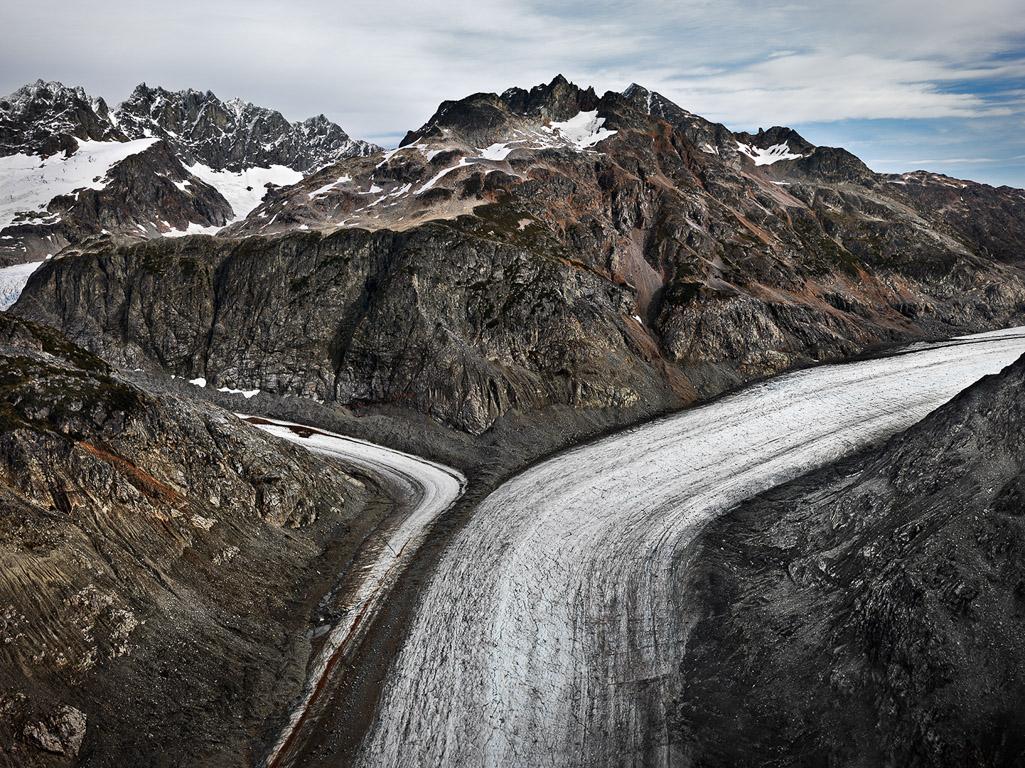 Glacier Catchment  Scud River, Northern British Columbia, Canada, 2012