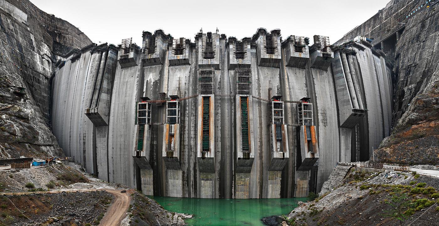 Xiluodu Dam #1  Yangtze River, Yunnan Province, China, 2012