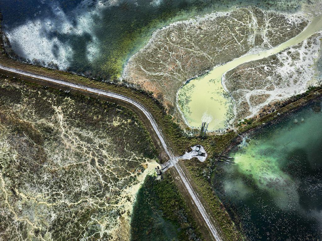 Phosphor Tailings Ponds #3  Polk County, Florida, USA, 2012